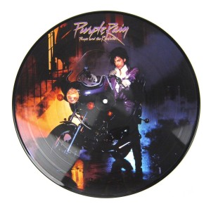 PRINCE AND THE REVOLUTION Purple Rain PICTURE DISC limited edition