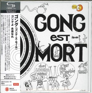 GONG Gong Est Mort  BELLE-152443 JAPAN SHM  2x CD