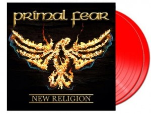 PRIMAL FEAR New Religion 180g 2LP RED ltd=250