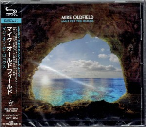 MIKE OLDFIELD Man On The Rocks JAPAN SHM CD (UICY-15274)