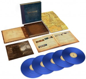 HOWARD SHORE The Lord Of The Rings: The Two Towers 5xLP blue vinyl box
