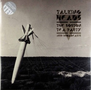 TALKING HEADS The Boston Tea Party 2xLP clear vinyl