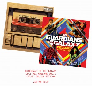 GUARDIANS OF THE GALAXY 3xLP bundle MIX vol1+ DELUXE