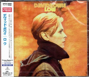 DAVID BOWIE Low JAPAN CD WPCR-80094
