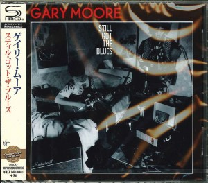 GARY MOORE Still Got The Blues JAPAN SHM UICY-25505
