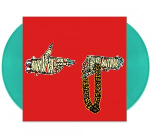 RUN THE JEWELS Run the Jewels 2 LIMITED COLOR Teal 2xLP