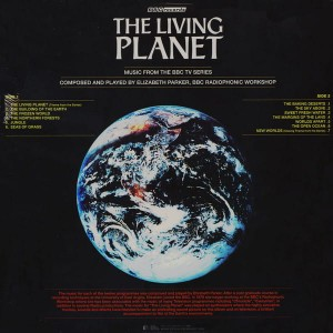 ELIZABETH PARKER The Living Planet (A Portrait Of The Earth) SILLP1510 COLOR LP