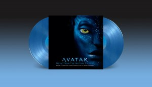 James Horner AVATAR blue vinyl 2xLP 180 numbered