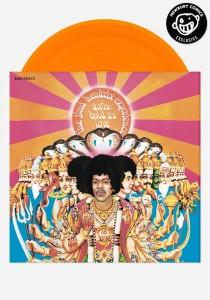 JIMI HENDRIX Axis: Bold As Love -200g orange vinyl