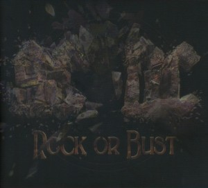 AC/DC Rock Or Bust (3D cover) - LP+CD - 2014
