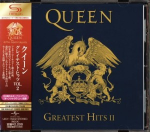 QUEEN Greatest Hits SHM JAPAN VOL.2 UICY-15002