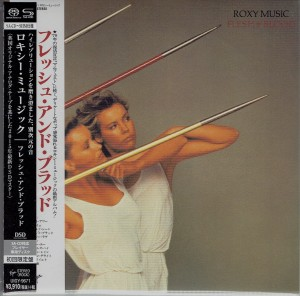 ROXY MUSIC Flesh + Blood JAPAN SHM SACD UIGY-9671