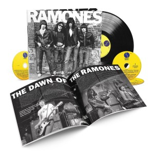 RAMONES 40th Anniversary Deluxe BOX 4xCD+LP