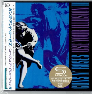 GUNS N' ROSES Use Your Illusion 2 SHM JAPAN cardboard (UICY-94337)