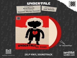 TOBY FOX Augustine Mayuga Gonzales Undertale on Piano COLOR 2xLP