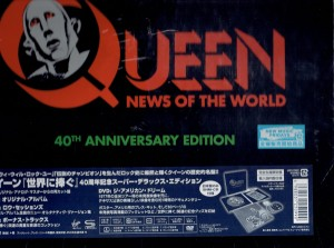 QUEEN News Of The World 40th Anniversary Edition (Japan Limited Deluxe Box)