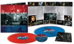 LOU REED, JOHN CALE & NICO Le Bataclan, PARIS, JAN 29 '72 -180G COLOURED VINYL+DVD