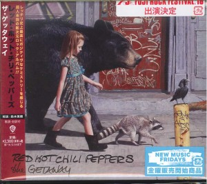 RED HOT CHILI PEPPERS The Getaway JAPAN CD WPCR-17366