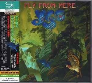 YES Fly From Here JAPAN SHM-CD + DVD box MIZP-30001