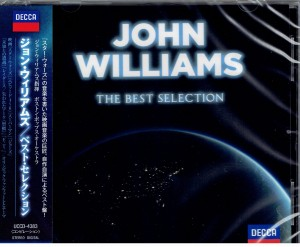 JOHN WILLIAMS The Best Selection JAPAN CD UCCD-4383