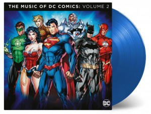 THE MUSIC OF THE DC COMICS 2xLP 180g color blue (MOVATM127)