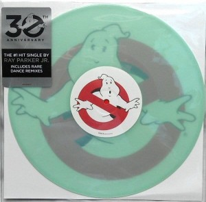 GHOSTBUSTERS SOUNDTRACK glow-in-the-dark vinyl