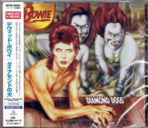 DAVID BOWIE Diamond Dogs JAPAN CD WPCR-80091