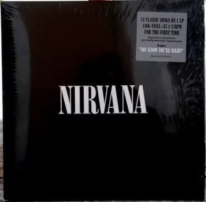 NIRVANA 180g vinyl LP + MP3