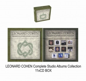 LEONARD COHEN Complete Studio Albums Collection BOX 11xCD