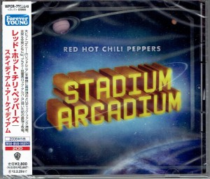 RED HOT CHILI PEPPERS Stadium Arcadium 2x JAPAN CD WPCR-75635