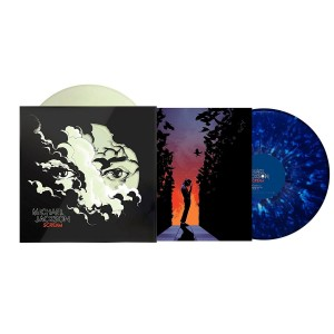 MICHAEL JACKSON Scream 2xLP Glow In The Dark/Blue Splatter Vinyl