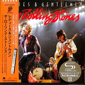 THE ROLLING STONES Ladies and Gentlemen JAPAN SHM-CD (UICY-78338)