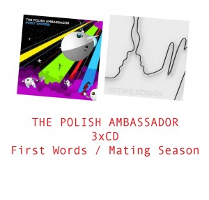 THE POLISH AMBASSADOR First Words +gratis CD