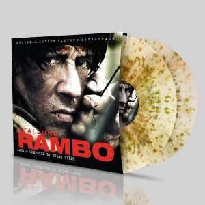BRIAN TYLER Rambo camouflage color 2xLP SILLP1260