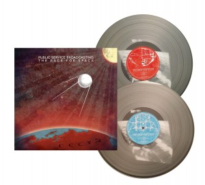 PUBLIC SERVICE BROADCASTING Race For Space CLEAR 2xLP (sleeve:NM)