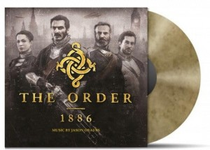 THE ORDER 1886 Jason Graves GOLD LP (MOVATM030)