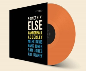 CANNONBALL ADDERLEY Somethin' Else 180g ORANGE VINYL