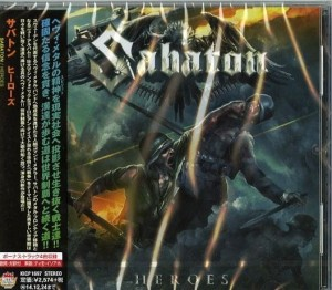 SABATON Heroes JAPAN CD KICP-1697- 2014 + bonus
