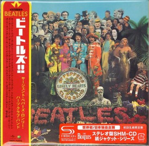 THE BEATLES Sgt. Pepper's Lonely Hearts SHM CD JAPAN (cardboard UICY-76973)