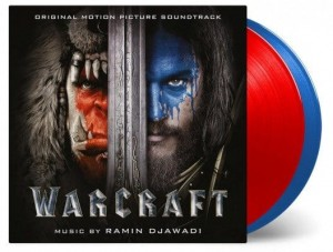 WARCRAFT Ramin Djawadi RED + BLUE COLOR 2xLP 180g (MOVATM118)