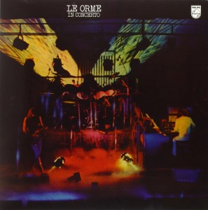 LE ORME In Concerto - LP LIMITED VINYL RED/BLACK