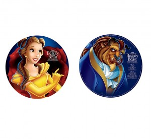 BEAUTY AND THE BEAST PIĘKNA I BESTIA limited PICTURE DISC LP 180g