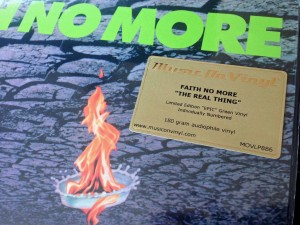 FAITH NO MORE Real Thing ZIELONY LP 180g MOVLP886