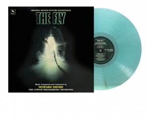 HOWARD SHORE The Fly MUCHA OST green LP / 3D cover