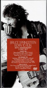 BRUCE SPRINGSTEEN Born To Run BOX CD +2 DVD + book