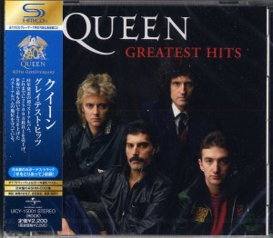 QUEEN Greatest Hits  SHM JAPAN VOL.1  UICY-15001