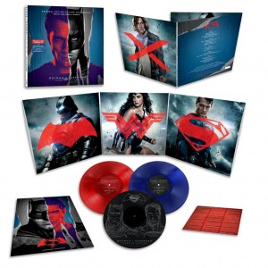 HANS ZIMMER & JUNKIE XL Batman v Superman: Dawn of Justice 3xLP COLOR NUMBERED (MOVATM088)