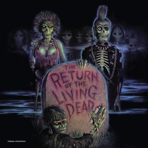 RETURN OF THE LIVING DEAD (Powrót żywych trupów) COLOURED VINYL