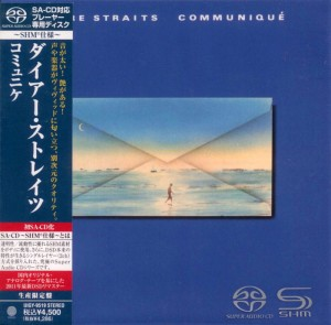 DIRE STRAITS Communique SHM SACD LIMITED Japan (cardboard 2012 UIGY-9519)