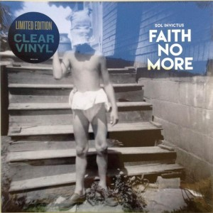 FAITH NO MORE Sol Invictus CLEAR LP limited